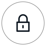 Encrypt icon (closed lock)