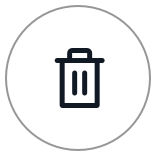 Delete icon (trash can)