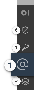 Toolbar with focus on Alias
